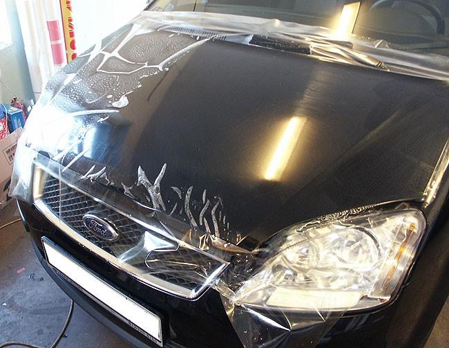 Как снять пленку с кузова автомобиля