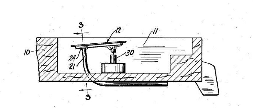 Схема поп-поп лодки из патента 1931 года
