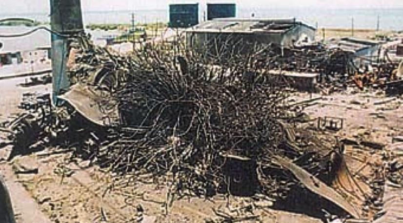 Взрыв парового котла паровоза